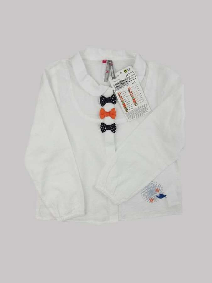 Chemise fille 2 ans <br> ORCHESTRA 0