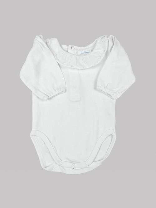 Body manches longues fille 3 mois <br> BOUT'CHOU
