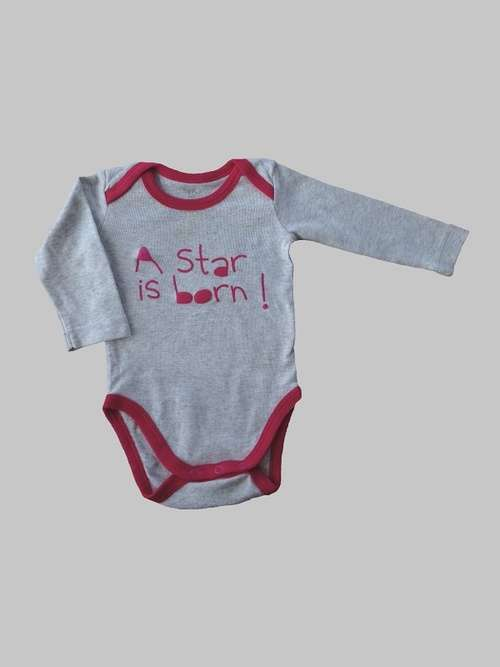 Body manches longues fille 3 mois <br> TEX