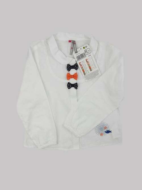 Chemise fille 2 ans <br> ORCHESTRA