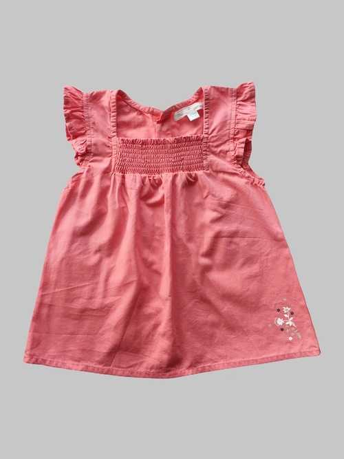 Robe fille12 mois <br> MES PETITS CAILLOUX